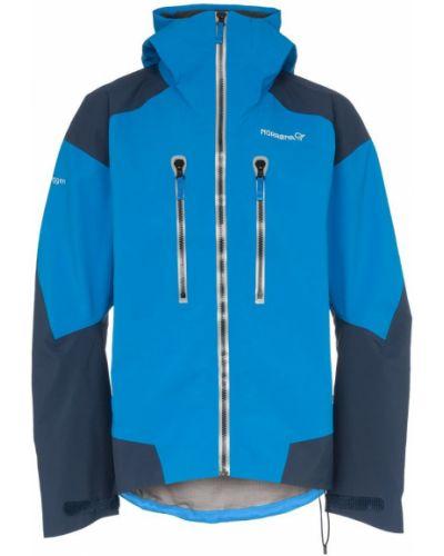 Синяя куртка Norrona