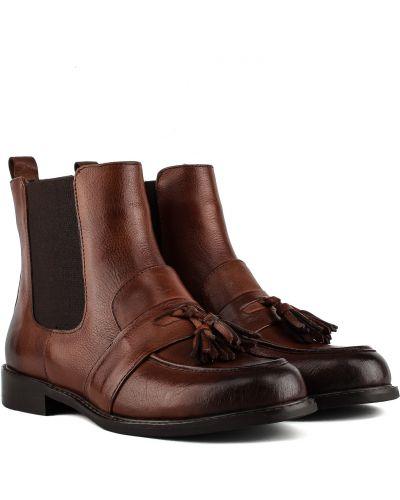 Ботинки - коричневые Djovannia