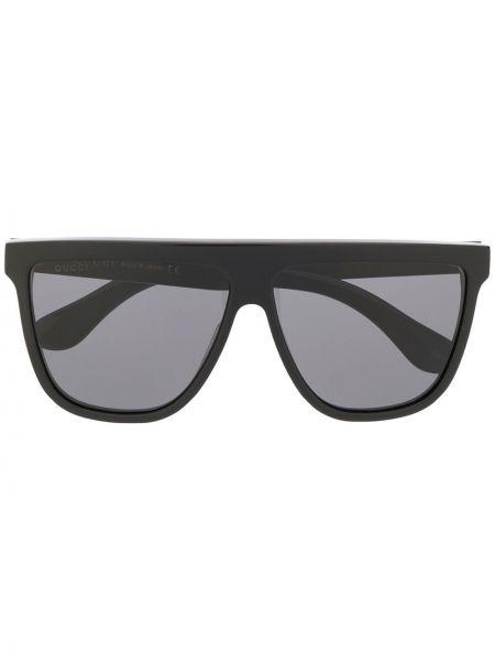 Солнцезащитные очки черные квадратные Gucci Eyewear