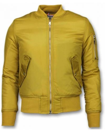 Żółta kurtka Beluomo