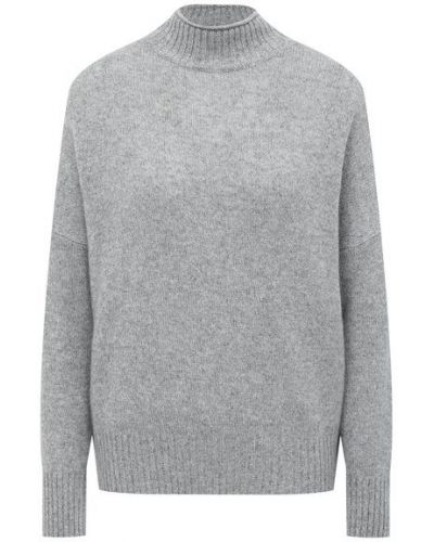 Кашемировый серый свитер Allude