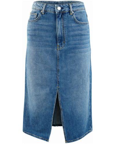 Niebieska spódnica Ba&sh