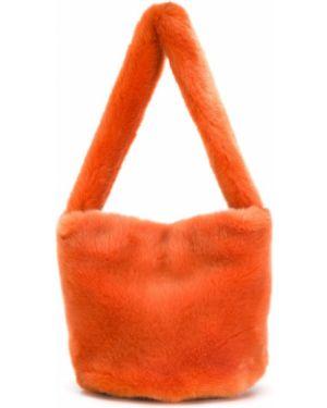 Оранжевая сумка La Seine & Moi