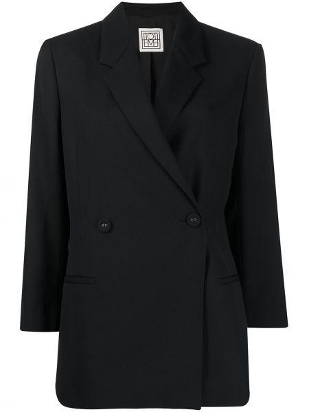 Черный пиджак Toteme