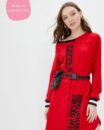 Платье - красное Dali
