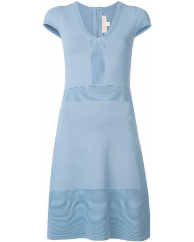 Платье мини с V-образным вырезом с вырезом Michael Michael Kors