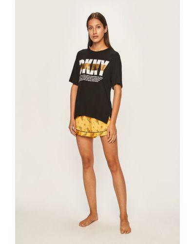 Piżamy z szortami długo piżama Dkny