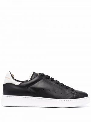 Buty sportowe skorzane - czarne Officine Creative