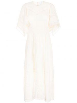 Хлопковое платье миди - белое Alice Mccall