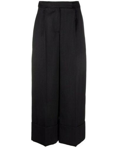 Czarne spodnie Simone Rocha