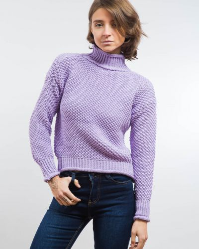Кофта фиолетовый сиреневый No Name
