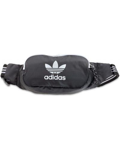 Черная поясная сумка с логотипом Adidas Originals