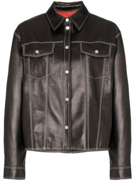 Черная куртка Sjyp