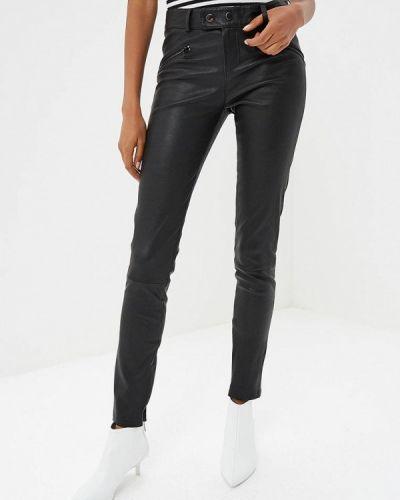 Черные брюки повседневные Oakwood