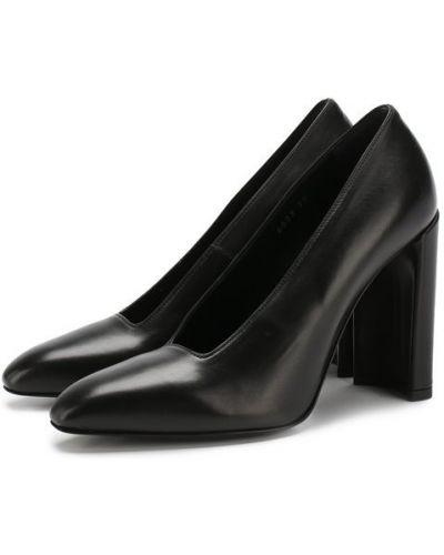 Кожаные туфли на каблуке Premiata