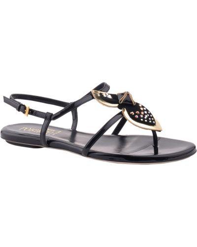 Черные сандалии Loriblu