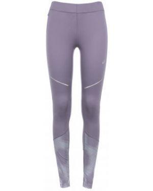 Спортивные брюки фиолетовые для бега Asics