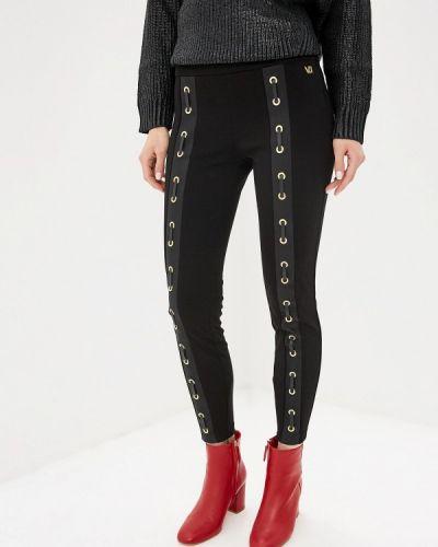 Брюки черные Versace Jeans