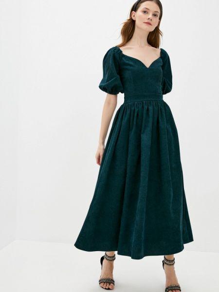 Зеленое платье Lipinskaya Brand
