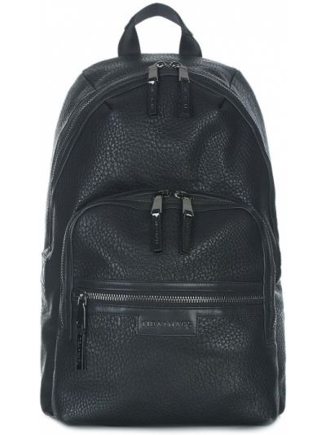 Ciepły czarny plecak Tiba + Marl