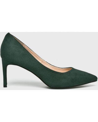 Туфли на каблуке на шпильке текстильные Answear