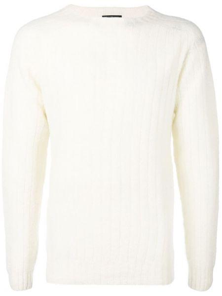 Белый свитер свободного кроя Howlin'