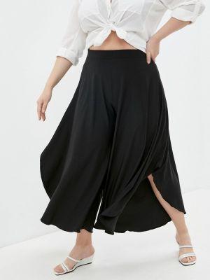 Широкие черные брюки Malena