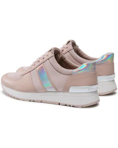 Różowe sneakersy Michael Michael Kors