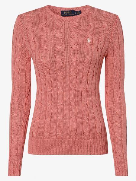 Koszulka polo klasyczny różowy Polo Ralph Lauren