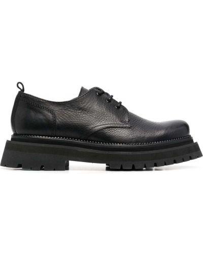 Туфли на каблуке - черные Ami Paris