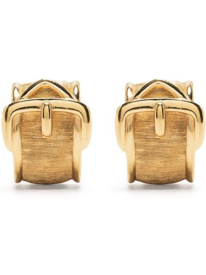 Złoty pasek z paskiem Christian Dior