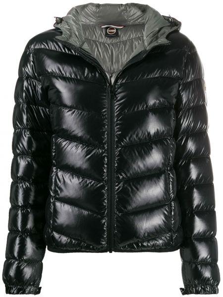 Черная куртка с капюшоном с манжетами Colmar