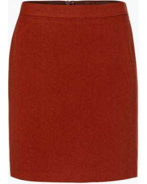 Ciepła pomarańczowa spódnica mini Marie Lund