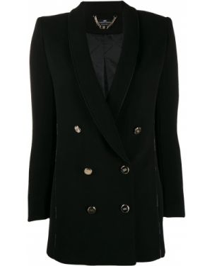 Классическая черная куртка Elisabetta Franchi