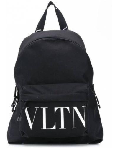 Plecak z printem Valentino