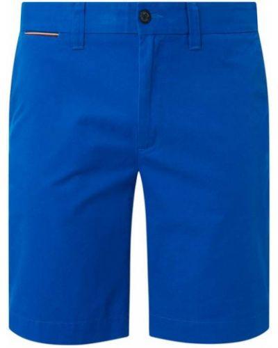 Niebieskie szorty chinosy bawełniane Tommy Hilfiger Big & Tall