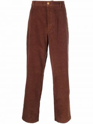 Spodnie sztruksowe - brązowe Acne Studios