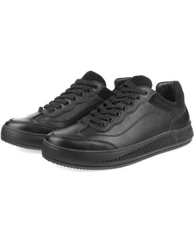 Кожаные кроссовки - черные Westland