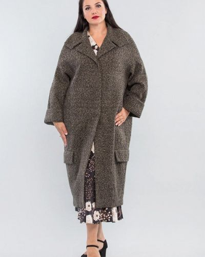 Серое пальто Maxa