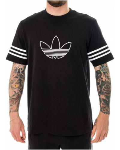T-shirt bawełniany oversize Adidas