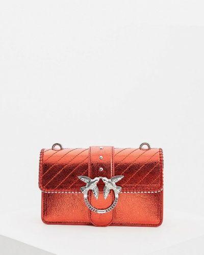 Кожаный сумка с ручками Pinko