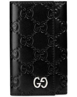 Ключница кожаная черный Gucci