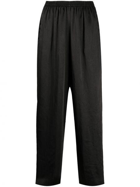 Свободные брюки расклешенные с поясом Forte Forte