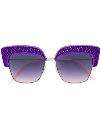 Солнцезащитные очки кошачий глаз фиолетовый Oxydo