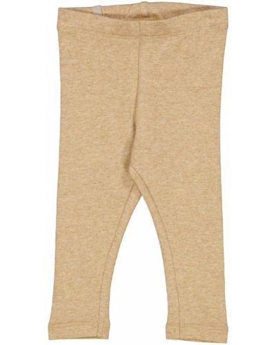 Beżowe legginsy Wheat