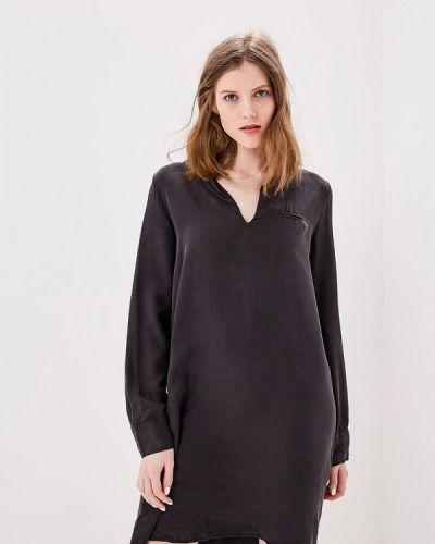 Платье платье-сарафан черное Sack's