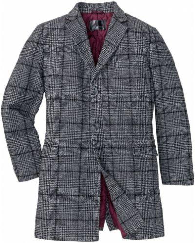 Куртка в клетку черная Bonprix
