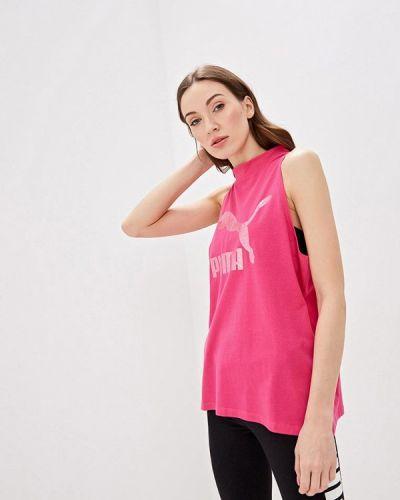 Спортивный топ розовый Puma