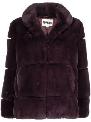 Brązowy płaszcz pikowany Apparis