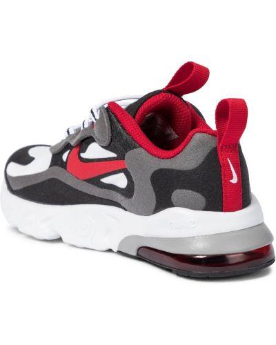 Biały włókienniczy sneakersy Nike Kids